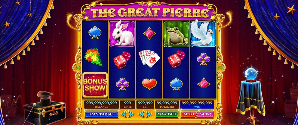great pierre slots theme caesars casino