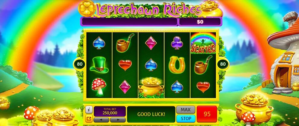 free leprechaun slots caesars casino