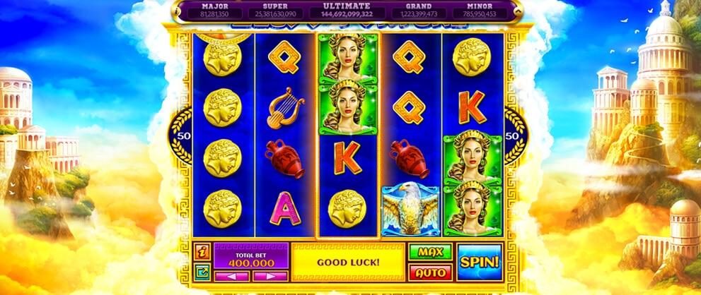 zeus fortune free slots caesars casino