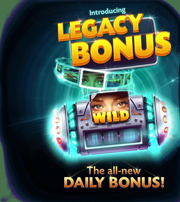 legacy bonus feature free slots caesars casino