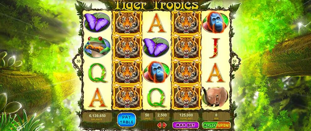 tiger tropics free slots caesars machine