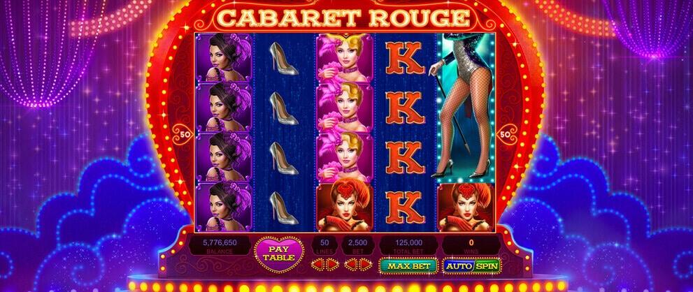 high limit slot machine cabaret rouge caesars casino