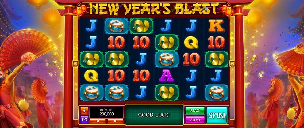 new year slots caesars casino free slots