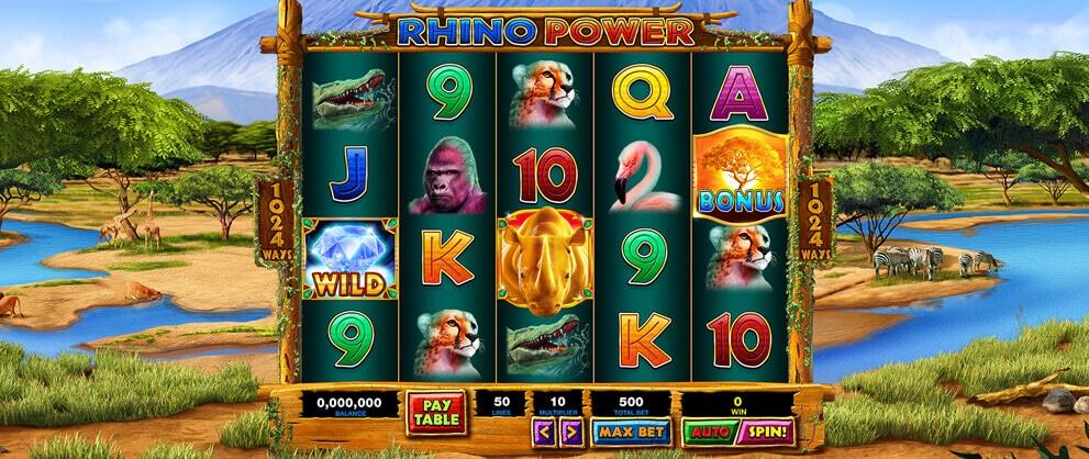 rhino free slots caesars casino