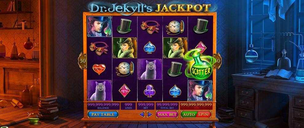 Dr Jekyll's Jackpot Slots