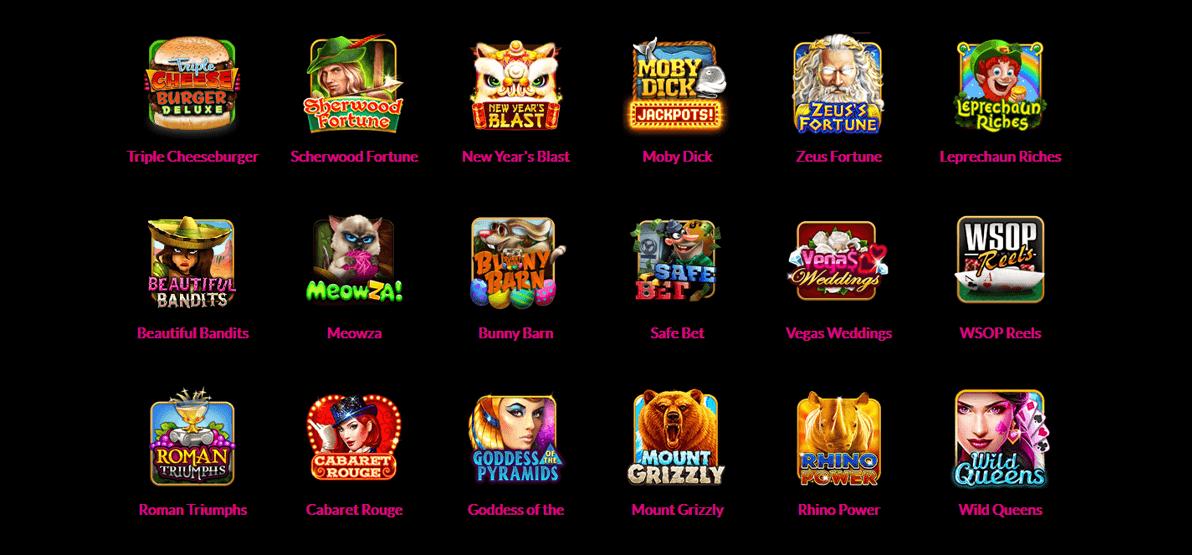slot machine games to play