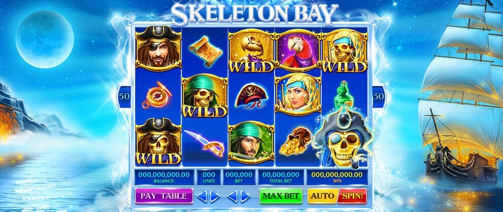 skeleton bay slot machine caesars casino