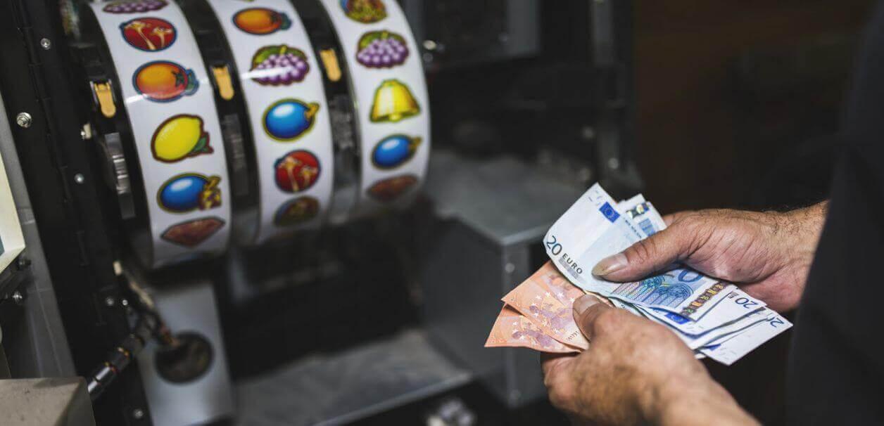 slot machines inside