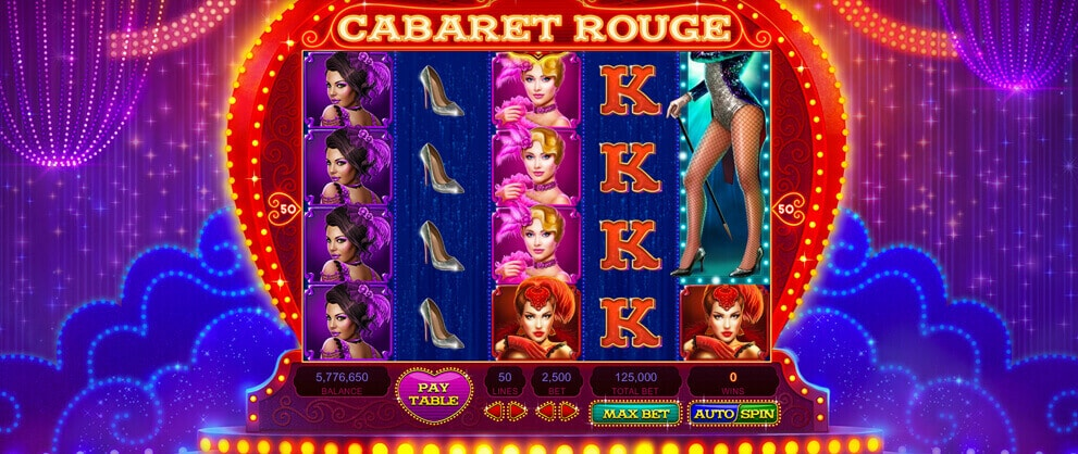 high limit slot machine cabaret rouge caesars casino
