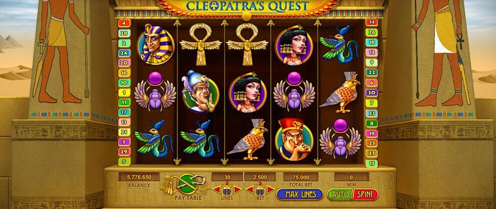 cleopatra free slot machine caesars casino