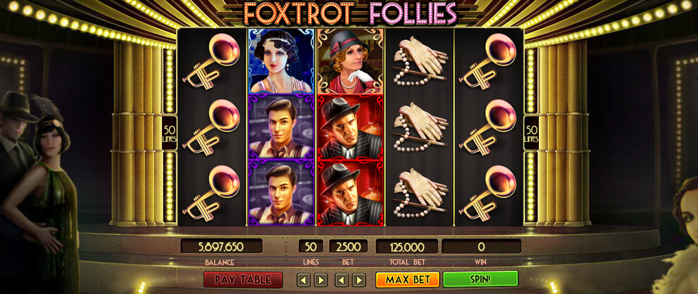 foxtrot follies free slots caesars casino