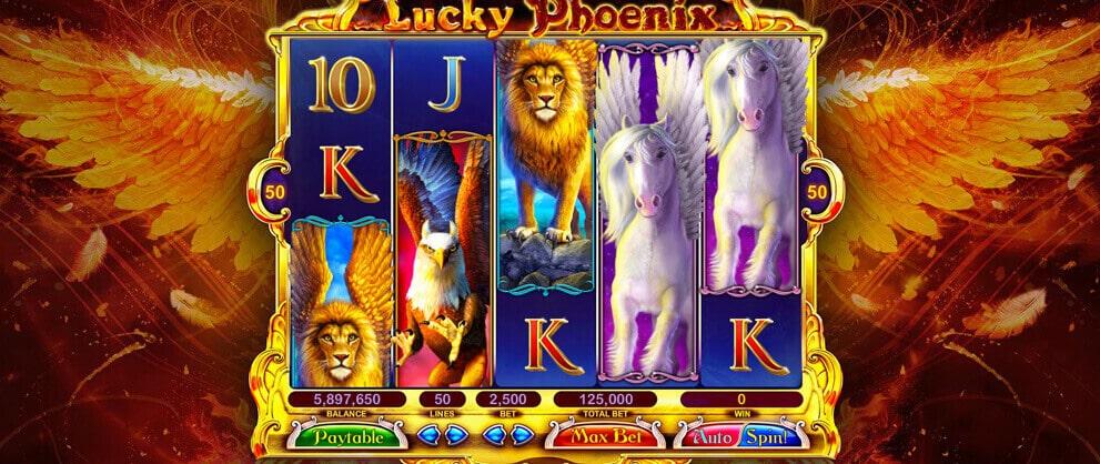 lucky phoneix slots caesars casino