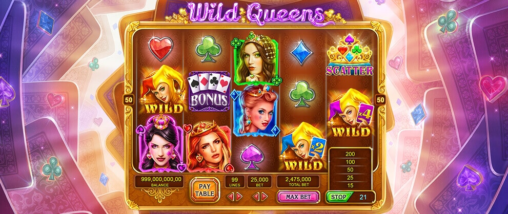 wild queens slots free slots caesars casino