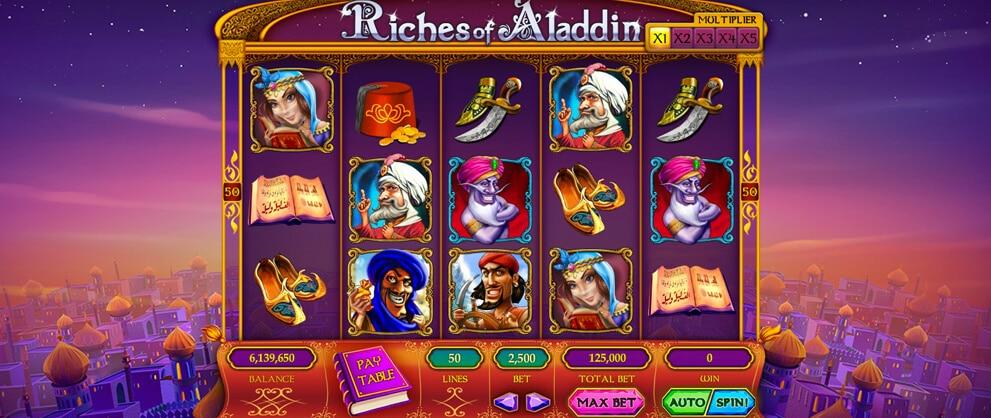 riches aladdin free slots caesars casino