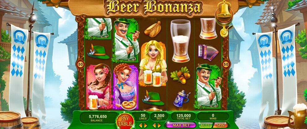 beer bonanza slot machines caesars casino
