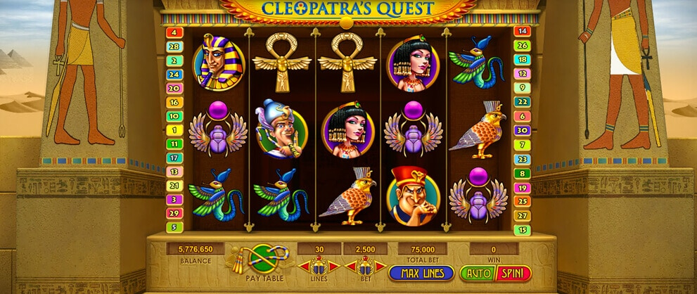 cleopatra free slot machine caesars casino