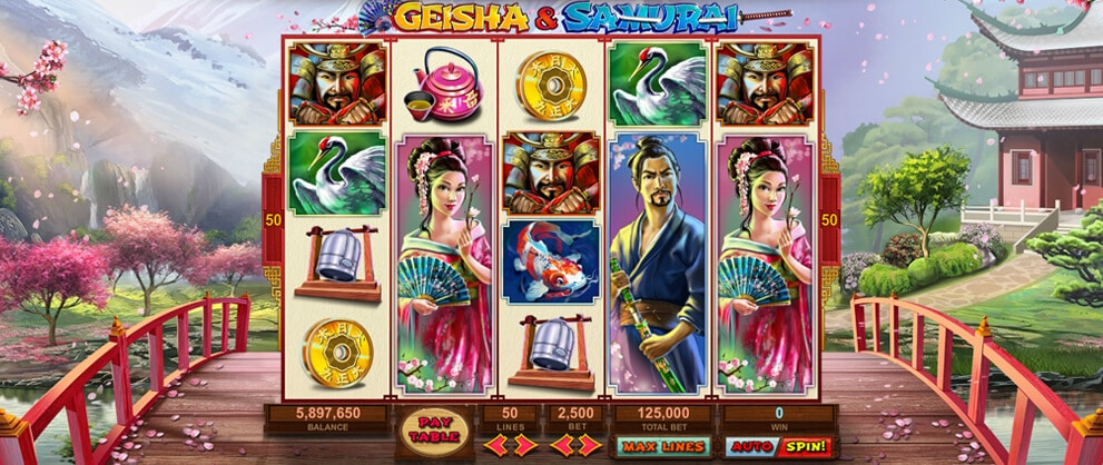 geisha samurai free slots caesars casino