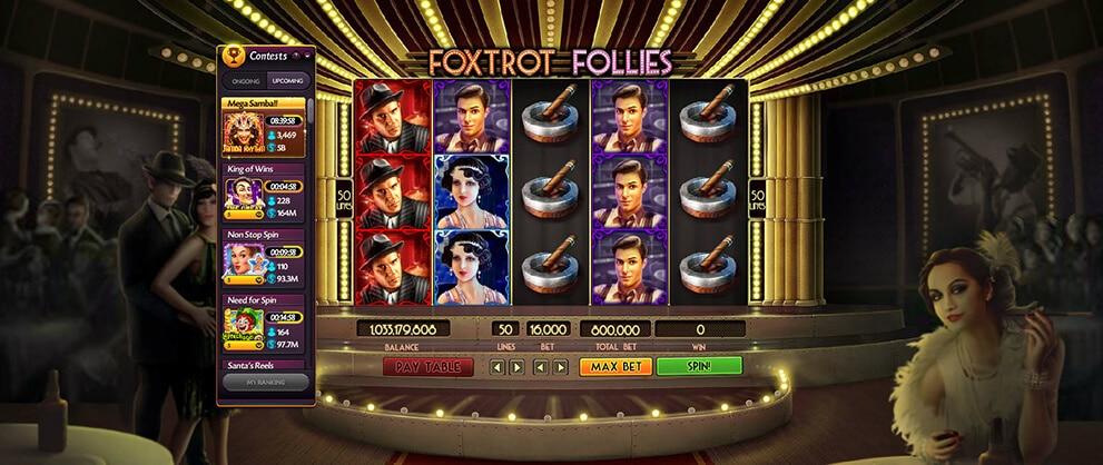 video slot foxtrot follies caesars casino