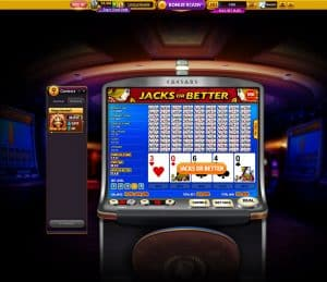 Video Poker Online Casino Game