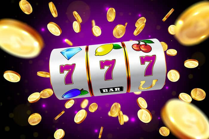 777 illustration slot machine