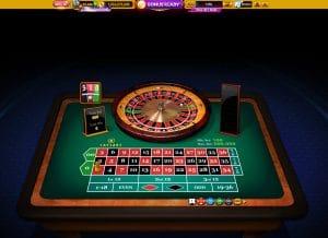 roulette caesars  casino